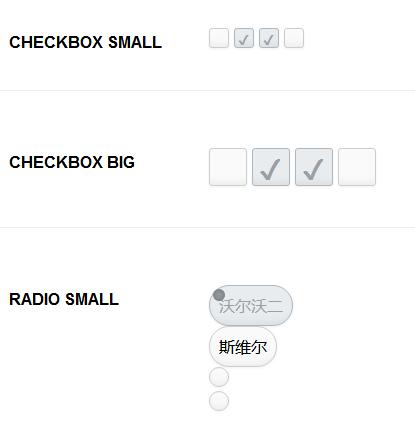 好看的CSS3单选复选按钮美化样式