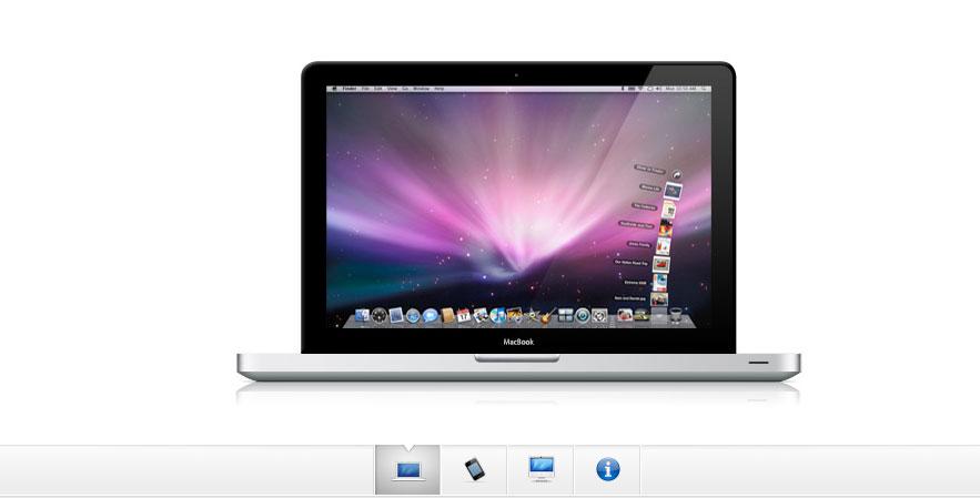 jquery 苹果网站风格的焦点图特效